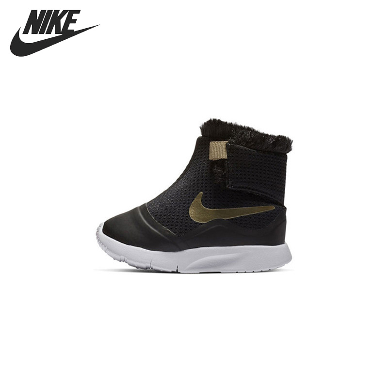 Original New Arrival NIKE TANJUN HI (TDV) Kids shoes Children Sneakers