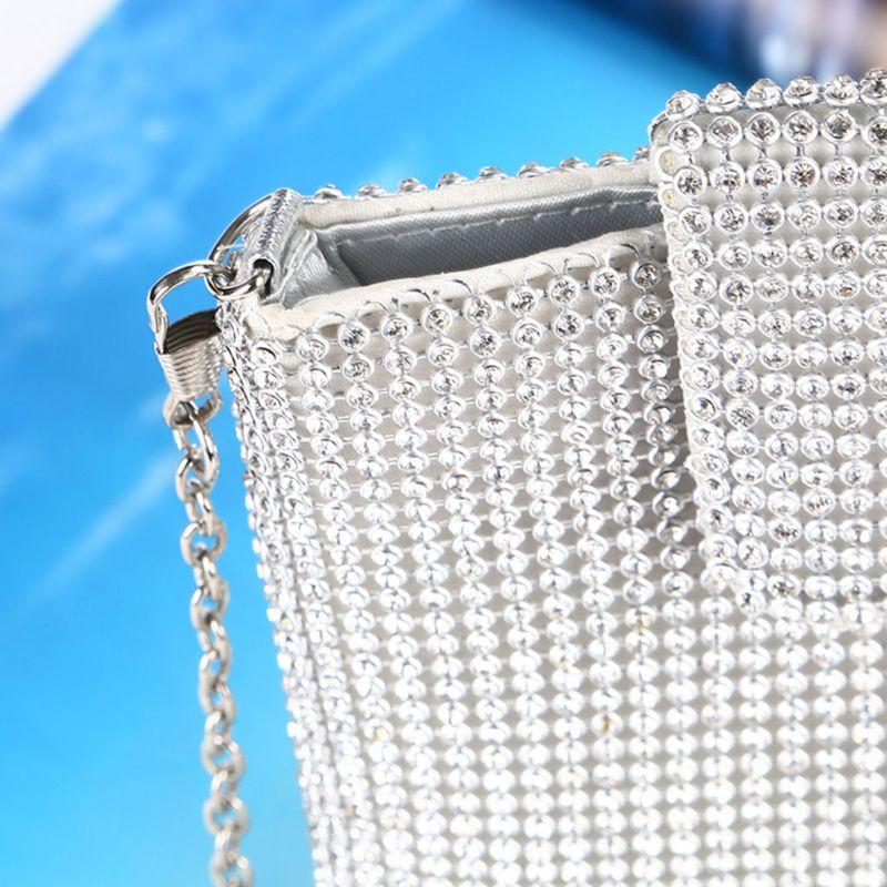 Вечерние сумочки клатч кошельки для женщин маленькая сумка через плечо упаковка для мобильного телефона кошелек M5TE