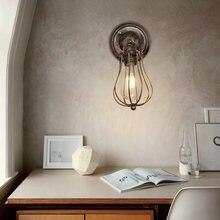 Artpad винтажный e27 Лофт промышленный настенный светильник