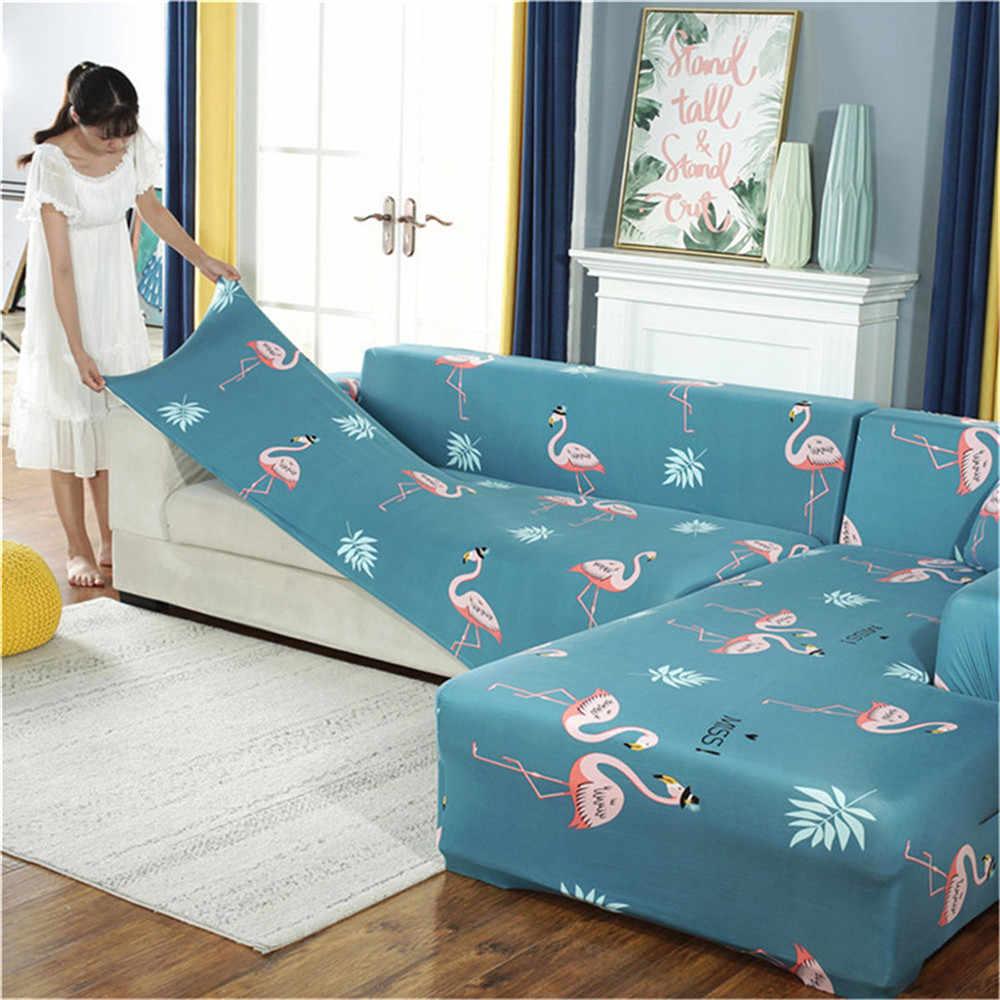 مرونة تمتد أريكة يغطي نسيخ من سباندكس بوليستير الذراع الأريكة أريكة الغلاف الأثاث غطاء واحد/اثنين/ثلاثة/أربعة مقاعد