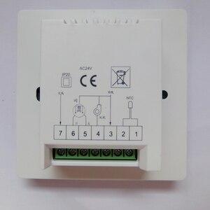 Centrale Aria Condizionata AC24V Intelligente Del Segnale Analogico 0-10V Termostato Proporzionale Integrale Del Pannello di Controllo(China)