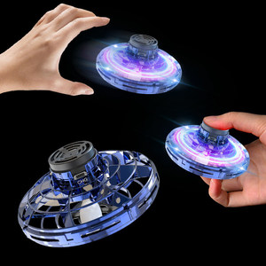Mini Drone Flying Hand Operated Induction Aircraft Quadrocopter Flying Fingertip Gyroscope Dron UFO Toys for Kids