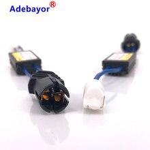 6pcs T10 Canbus Error Free Resistor LED Decoder Warning Error Canceller T15 W5W W5W