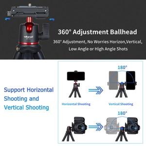"Image 3 - ulanzi Flexible Octopus Tripod Stand 1/4""+Ballhead Mini Tripod for Smartphone DSLR SLR Camera for Live Streaming Video Recording"