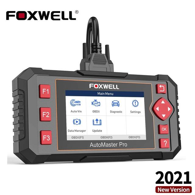 FOXWELL NT604 Elite OBD2 Auto Diagnostic Scanner Engine Transmission ABS Airbag System OBD 2 Code Reader Automotive Diagnosis