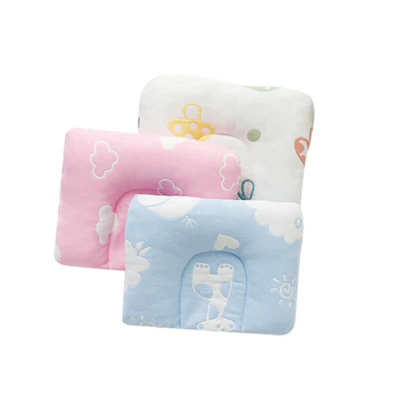 Cotton Newborn Infant Baby Pillows Prevent Flat Head Cushion Sleeping Support Hot Sleep Positioners 21x32CM