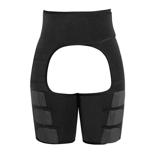Slim Thigh Trimmer Leg Shapers Slender Slim Belts Sweat Shapewear Toned Muscles Band Thigh Slimmer Wraps 3