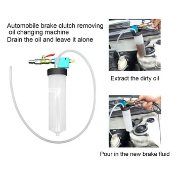 Portable Auto Car Brake Fluid Oil Change Replacement Tool Hydraulic Clutch Oil Pump Oil Bleeder Empty Exchange Drained Kit olomm oil bleeder exchange drained kit brake oil changer brake oil exchange tool construction vehicles device supplies