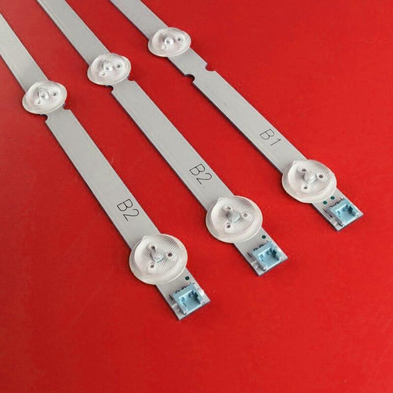 630mm 7 LED lámpara de luz de fondo de para LG 32