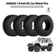 Pièces de pneus de voiture radiocommandés, 1.9 pouces, 4 pièces, pour modèles 1/10 tra-xxas TF2 Redcat Rc-4wd Tamiya scx10 D90 Hpi, AX8020