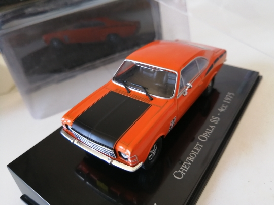I xo 143 chevrolet opala ss 4cc 1975 liga modelo carro diecast metal brinquedos presente de aniversário para crianças menino
