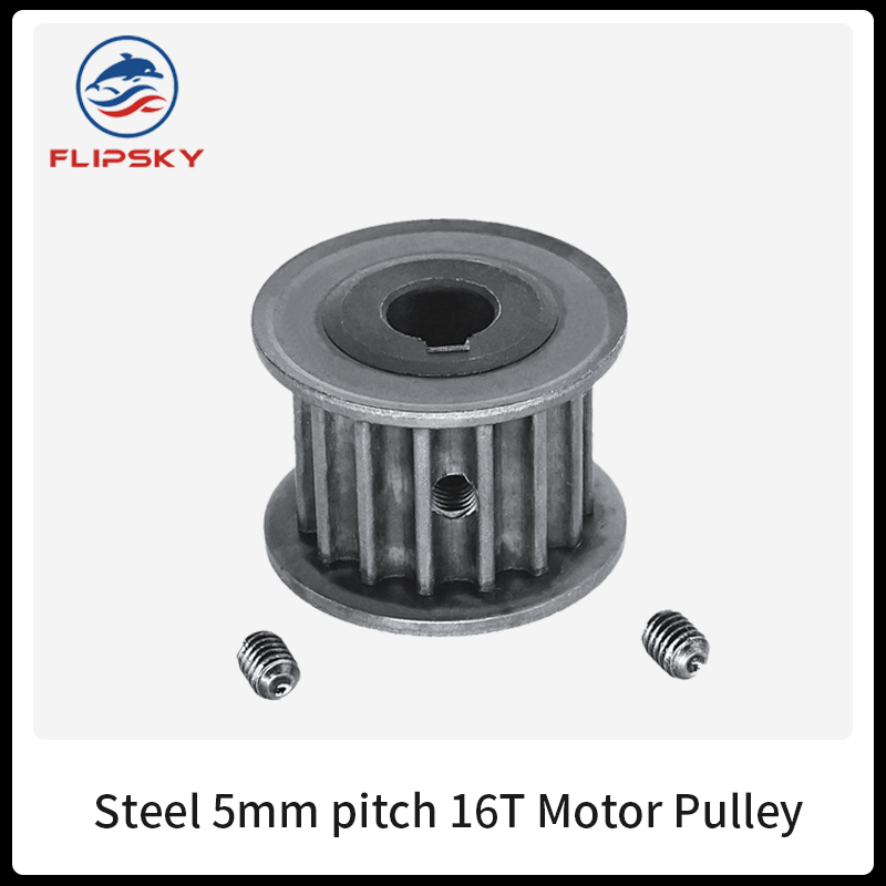 Flipsky Motor <font><b>Pulley</b></font> 5mm pitch 15T / 16T for Electric skateboard aluminium motor gear with bolt DIY Accessories image