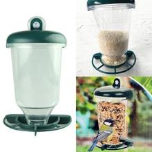 Distributeur automatique de nourriture pour oiseaux, ventouse suspendue transparente, mangeoire pour oiseaux sauvages, perche