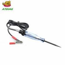 Auto 6V 12V 24V DC Car Truck Voltage Circuit Tester Car Test VoltMet Long Probe Pen Light Bulb Automobile Maintenance Tools