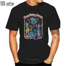 Easy baking Coven t-shirt per adulti uomo maglietta in cotone Halloween Rip t-shirt attività per bambini Tees Old School storie Horror top