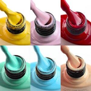 Image 5 - 2020 new 60 fashion color Venalisa gel polish enamel vernish color gel polish for nail art design whole set nail gel learner kit