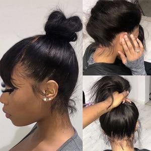 Image 2 - Perruque Full Lace wig brésilienne Remy sans colle LUFFY