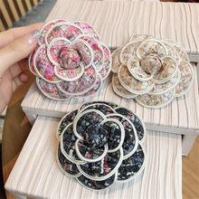 Women Girl Brooch Pins Badge Series Big Metal Bow Chain Pearl Tassel Wholesale Coat 5 Korean Handmade Fashion Accessories