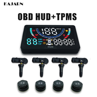HUD TPMS head up display Universal OBD2 hud display car heads up car display tyre pressure sensor car electronics projector