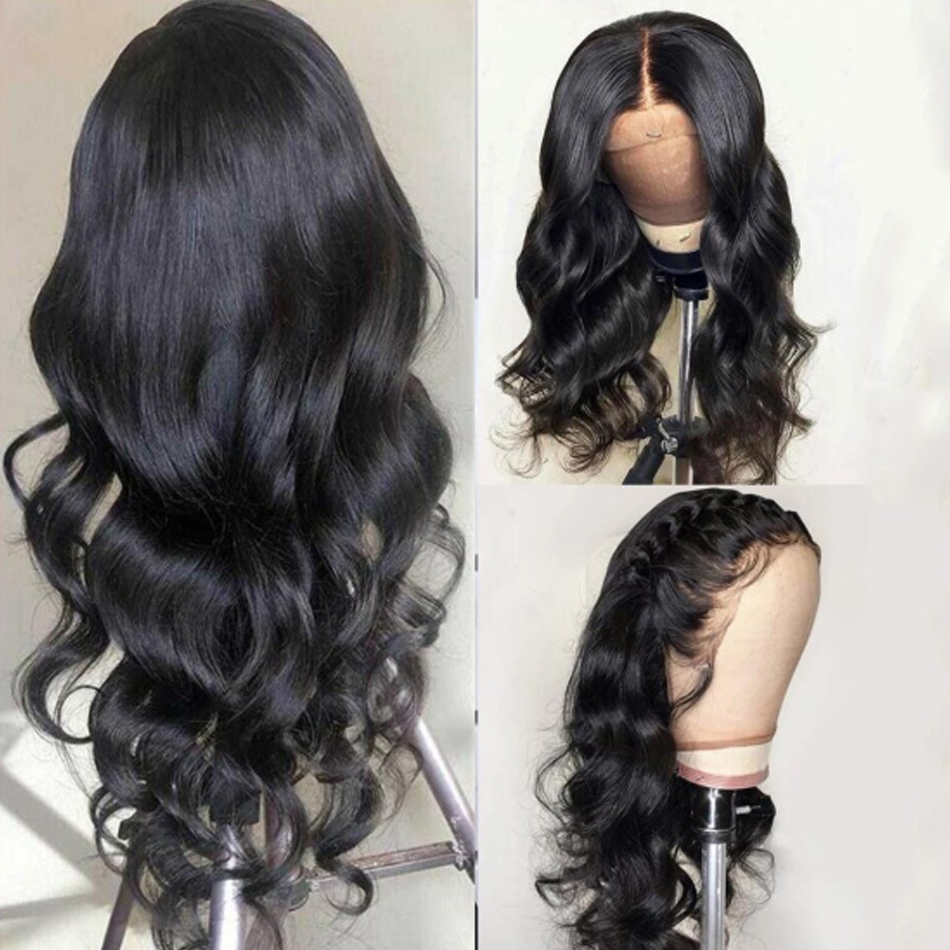 Shireen 13x4 Lace Front Wig Malaysian Body Wave Wig For Black Women Pre Plucked Remy 150% Human Hair Lace Frontal Wigs