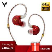 Kulaklesik A-HE03 auriculares de alta fidelidad auriculares de alta resolución armadura híbrida conector de 2 pines 3,5mm en monitores de oído auriculares de alta fidelidad kulaklí