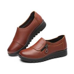 2019 г. Весенне-осенняя новая стильная обувь для пожилых людей, универсальная повседневная обувь для мам среднего возраста женская обувь