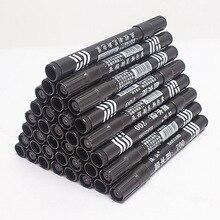50PCS cheap wholesalemarker pen plastic rich oily black / red blue
