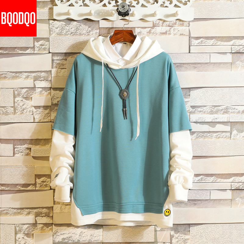 5XL Hoodies Sweatshirts Men Fake 2PAC Cotton Hooded Japanese Style Sweatshirt Mens Hip Hop Brown Causal Hoodiee Xxxtentacion