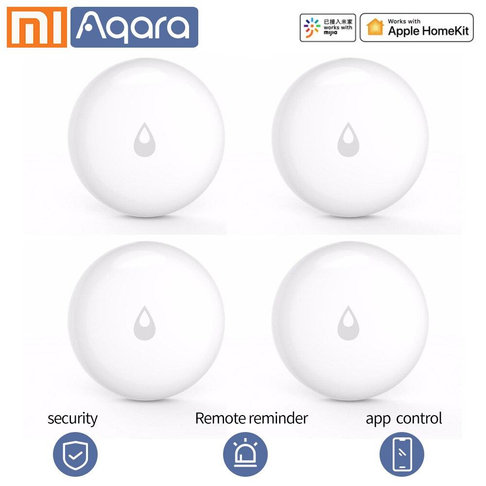 Aqara датчик погружения воды дистанционный будильник IP67 водонепроницаемый датчик утечки влажности Датчик Безопасности Xiaomi умный дом датчик