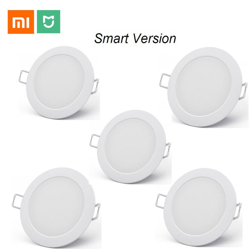 xiaomi mijia smart downlight work with mi home app smart remote control white  amp  warm light Embedded Ceiling LED lamp