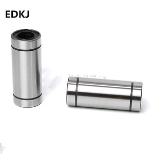1pcs/lot LM6LUU LM8LUU LM10LUU LM16LUU LM12LUU Linear Bushing 8mm CNC Linear Bearings for Rods Liner Rail Linear Shaft parts