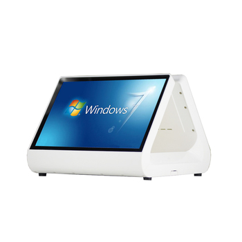 Dual Screen Cashier Register Latest 12 inch POS system with 2 GB memory for shops