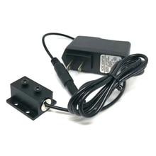 Позиционирование фокусируемый светодиод фонари 650 нм 5 мВт фокус линия луч красный диод лазер модуль w AC адаптер w 12 мм черный радиатор 1230