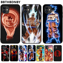 Dragon Ball Z Saiyan Goku Case Zachte Siliconen Case Coque Shell Telefoon Case Voor Iphone 5 5S Se 5C 6 6S 7 8 Plus X Xs Xr 11 Pro Max(China)