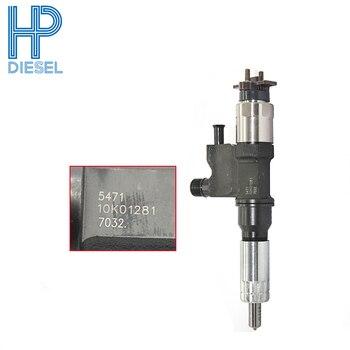6pcs/lot Best price common rail injector 095000-5471 for nozzle DLLA158P984 For Sumitomo 230/350/450, Hitachi 240/250-3