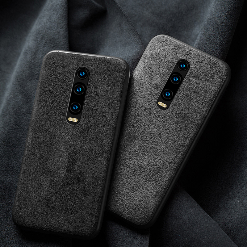 Leather case for <font><b>Xiaomi</b></font> <font><b>mi</b></font> 9T Pro 9lite <font><b>cover</b></font> shockproof Genuine Leather Suede fabric Funda for redmi k20 K30 pro note 8 pro 9S image