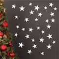 Зеркальная Настенная Наклейка «Звезды» разных размеров, акриловые стикеры «сделай сам» для гостиной, спальни
