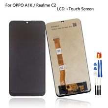 Original For OPPO Realme C2 RMX1941 RMX1945 LCD Display Touch Screen Digitizer Assembly Phone Parts For OPPO A1K CPH1923 LCD