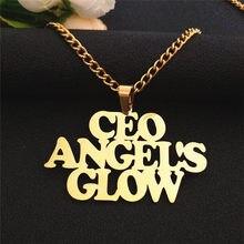 Colar de corrente de ouro colar de corrente de ouro personalizado mujer gargantilha personalizado presente de natal hip hop jóias