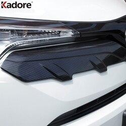 Dla Toyota C-HR CHR 2016 2017 2018 2019 ABS Chrome przednia kratka silnika górna pokrywa ochronna kij akcesoria do wykończeń samochodowych