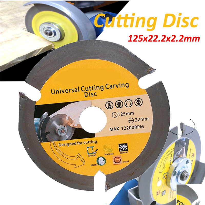 125mm 3T Circular Saw Blade Multitool Grinder Saw Disc Carbide Tipped Wood Cutting Disc Wood Cutting Power Tools