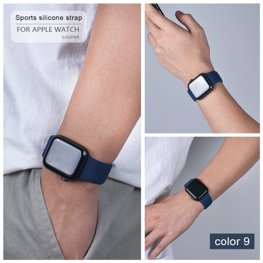 Soft Silicone Band for Apple Watch 86
