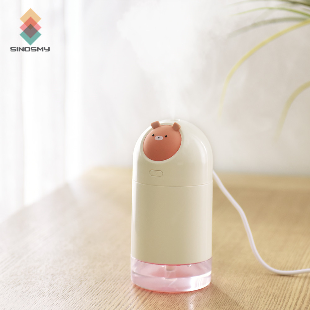Air Conditioning Appliances Cute Design Touch Button Mini Humidifier