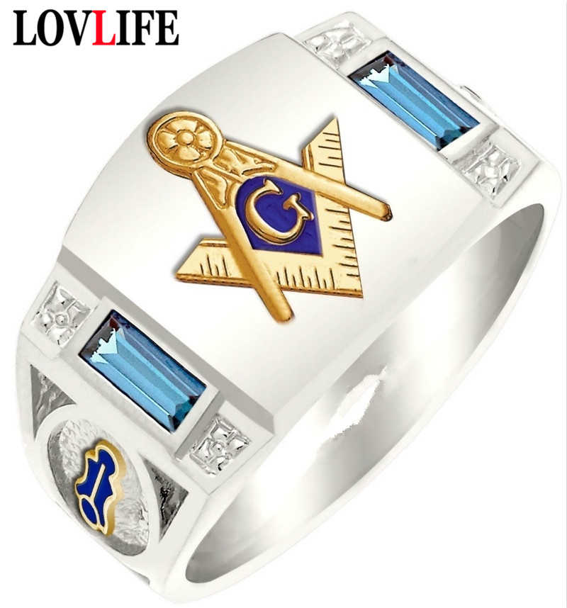 Solid RE38 Details about  /Men/'s Stainless Steel Ring Freemason Angle Compass Templar Large