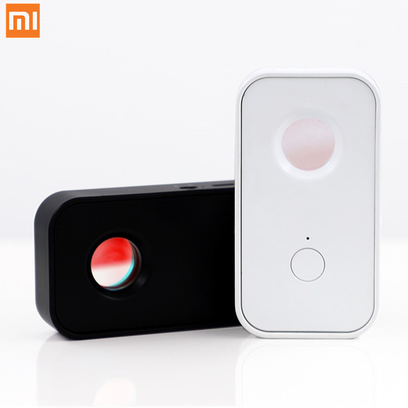 Original xiaomi Smoovie Multifunction Infrared Detector Pinhole camera Detector Anti-lost Pocket size Infrared Safety for Travel image