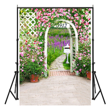 цена на 60x84 inches Flowers Patern Party Background Photography Backdrops for Wedding Baby Birthday Decoration Photo Wall Studio Props