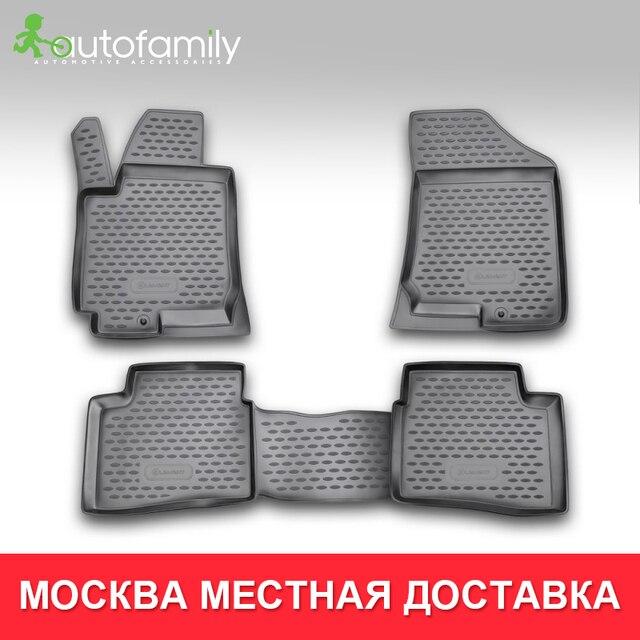 коврики для авто для KIA Pro-Ceed 3D,2008-2012,коврики в машину aвтомобильные аксессуары ковер,4 шт. (полиуретан)