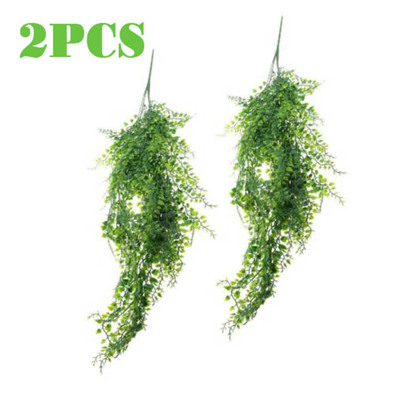 Водонепроницаемый Искусственный растение зеленый пластик поддельные листья наружное внутреннее украшение