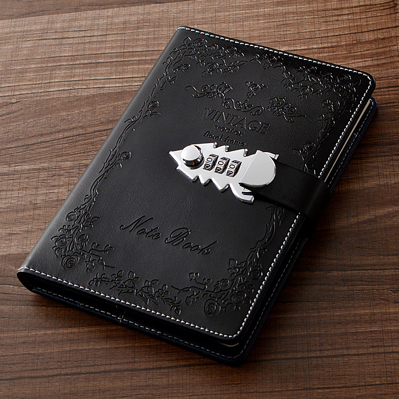 Best Deal 3551 Pu Leather A5 Planner Retro Notebooks And