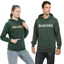Брендовые модные толстовки с капюшоном и надписью dsq2 свитшот